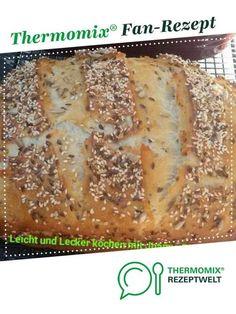 Joannas Quarkbrot mit Körnern von joannakobili. Ein Thermomix ® Rezept aus der Kategorie Brot & Brötchen auf www.rezeptwelt.de, der Thermomix ® Community.