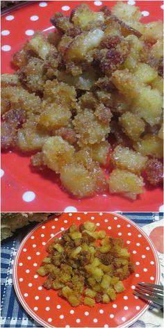 Patate sabbiose, saporite e irresistibili !! #patate #patatesabbiose #ricettegustose