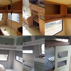 Aven'toF' - Caravanity | happy campers lifestyle Caravan Interior Makeover, Caravan Decor, Happy Campers, Campervan, Tiny House, Lifestyle, Basel, Furniture, Home Decor