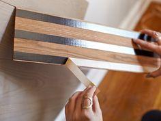 idée comment poser parquet stratifié sur le mur