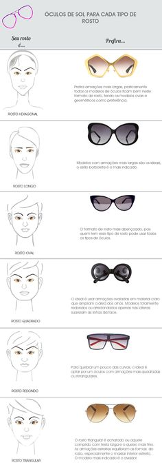 Tipos de rostos e o modelos de óculos ideais para eles. Glasses For Your Face Shape, New Glasses, Face Shapes, Body Shapes, Fashion Dictionary, Fashion Vocabulary, Christmas Gifts For Girls, 21st Gifts, Tips Belleza