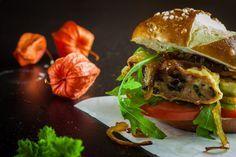 Schwäbischer Maultaschen Burger - Rock the Taste