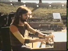 "Pink Floyd (Rick Wright in the photo) – ""A Saucerful Of Secrets"" from ""Live at Pompeii"""