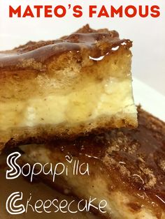 This recipe is the REAL DEAL!!  Light and fluffy, luscious and creamy - REAL cheesecake sandwiched between layers of cinnamon-y sopapilla and drizzled with honey.  WOW!