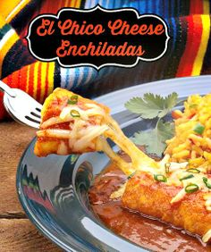 Who doesn't love a great #cheeseenchilada? This is a vegetarian sauce that you will love! #cheeseyrecipes #appetizers