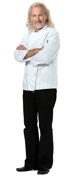 Hubert Keller, renown French chef, with restaurants in San Francisco & Las Vegas....Top Chef Master, Judge