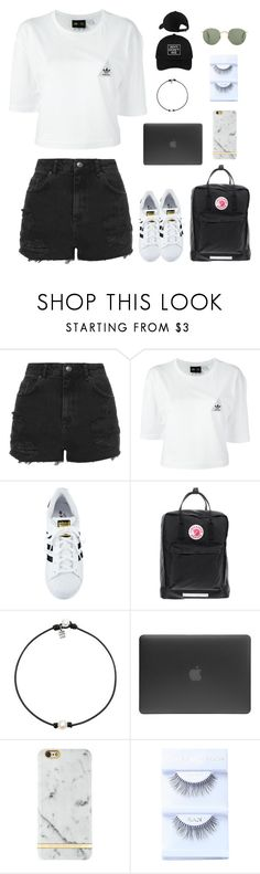 """""""Chasing dreams"""" by abbyreichart ❤ liked on Polyvore featuring Topshop, adidas, Fjällräven, Incase and Richmond & Finch"""