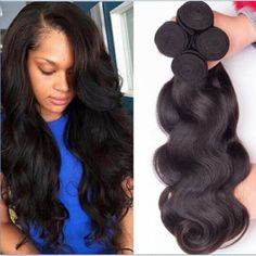 3-Bundles-150g-total-Brazilian-Virgin-Body-Wave-Weave-Weft-100-Human-Hair-Wavy