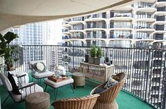 apartment balcony life