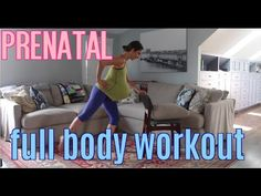 Prenatal Full Body Workout barre + light weights + cardio - dont let the ball under the shirt scare you away! Its a great workout Post Pregnancy Workout, Baby Workout, Pregnancy Care, First Pregnancy, Pregnancy Fitness, Prenatal Pilates, Prenatal Workout, Free Gym Membership, 3rd Trimester