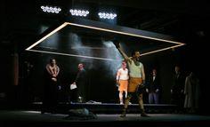 """stage design for """"der boxer"""" by julie weideli Der Boxer, Stage Design, Athlete, Wrestling, Lucha Libre, Set Design, Design Set, Scenic Design"""