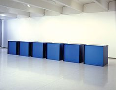 Untitled by Donald Judd, 1971. Gift of the T.B. Walker Foundation.