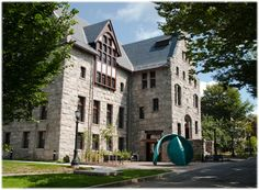 University of Rhode Island's Browning Hall Dorm for College of Environment & Life Sciences Living and Learning Community