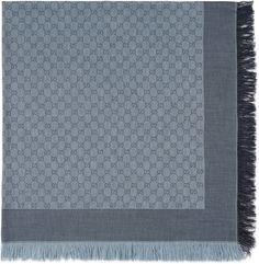 GG pattern shawl
