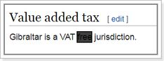 Value Added Tax, Ads