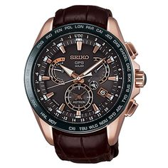 Seiko Astron GPS Solar Dual-Time / Novak Djokovic Limited Edition - 3,000 pieces worldwide - signature and number engraved on caseback / SSE060