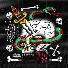 Dr. Alderete 2013 Twin Tones - La Muerte en Mojave [T-Vox] #albumcover