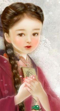 Miharu Yokota, painting detail