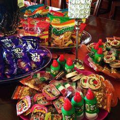 Mexican/ Fiesta Candy Bar