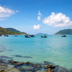 Granite cliffs outline the crystalline water on Con Son, the only inhabited island in the barely populated 16-island archipelago of Con Dao, one of the best secret islands on Earth. Located 110 miles off Vietnam's southeastern coast, the unspoiled island'
