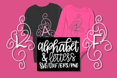 Damask Alphabet & Numbers  by Justina Tracy available for $2.50 at DesignBundles.net