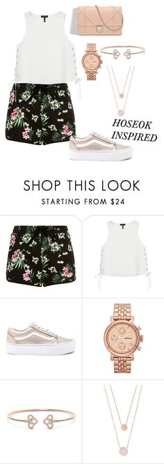 """""""BTS INSPIRED OUTFITS"""" by btsmyhearteu on Polyvore featuring rag & bone, Vans, FOSSIL and Michael Kors"""