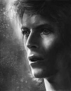 David Bowie by AnnikeAndrews.deviantart.com on @DeviantArt