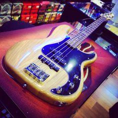 LTD Vintage 214 bye bye #ltdguitars #esp #precision #vintage #natural #pj #bassline