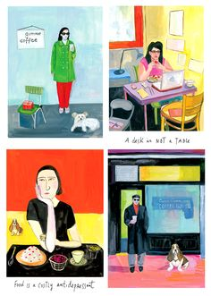 Food Rules illustrations (Maira Kalman)