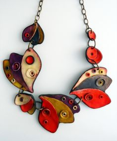 Necklace by ANARINA ANAR | Polymer Clay Planet