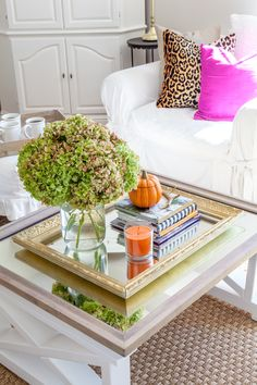 Fall Family Room Decorating Ideas from In My Own Style