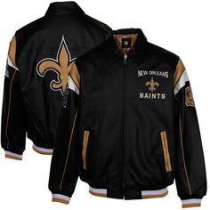 New Orleans Saints Leather Jacket
