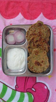 Cucumber and kaddu Thalipeeth | Hellomomy
