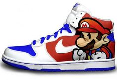 mario sneakers  i would love to get these
