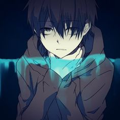 Resultado de imagen para anime sad boy