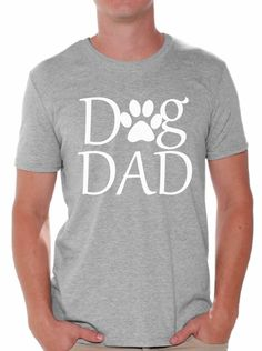 Dog Dad T shirt Tops Pet Lover Father`s Day Gift Dog Lover Gift For Him - http://bestsellerlist.co.uk/dog-dad-t-shirt-tops-pet-lover-fathers-day-gift-dog-lover-gift-for-him/