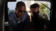 "Burn Notice 5x04 ""No Good Deed"" - Sam Axe (Bruce Campbell) & Jesse Porter (Coby Bell)"