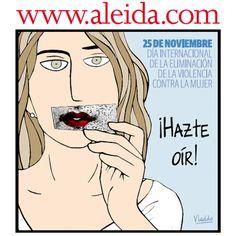 Aleida - #Niconelpétalodeunarosa #DíaContralaViolenciadeGénero