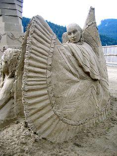 Harrison Sand Sculpture Championships   Flickr - Photo Sharing!