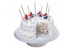 Filled With Pride Cake from 22 Spectacular Fourth of July Cakes Slideshow