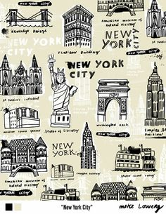 Travel Patterns - NYC - by Lilla Rogers
