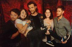 """caswhyusocute: """"Jensen: What do you guys want? Me: Something fun ..."""" - J2M photo op #BurCon2013"""