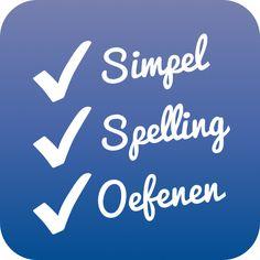 Spellingswerkbladen genereren en woorden flitsen