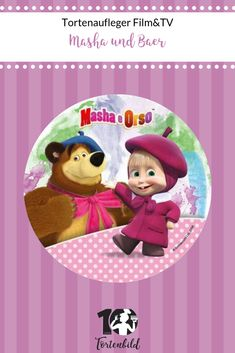 MASCHA UND DER BÄR*MASHA AND THE BEAR*Маша и Медведь*EIMER BASTELSET*
