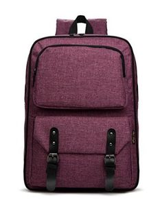 HotStyle 928M Slim 14-inch Laptop Backpack - Lightweight School Bag for  Girls - Purple 2c01a38cfd2f6