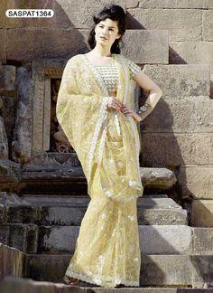 Net Sarees 2013 | Pakistan Net Sarees Design Collection 2013 Fashion