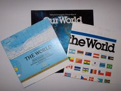 National Geographic Picture Atlas of Our World by + Map & Poster 1993 Revised VG National Geographic Society, Our World, Map, Poster, Location Map, Maps, Billboard