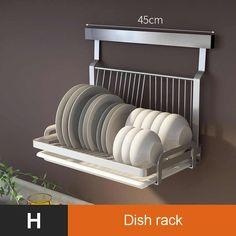 HEREB Estante de Drenaje,Adhesivo de Acero Inoxidable Fregadero de Cocina Esponja Soporte Rack Plato Colgador de Tela Organizador de Cocina Rack