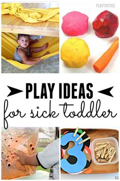 activities for sick toddlers