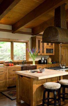 39 Mountain Home Kitchens Ideas Home Kitchens Home Kitchen Design